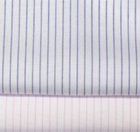纯棉免烫双竖纹衬衫面料