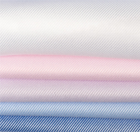 纯棉免烫斜纹衬衫面料