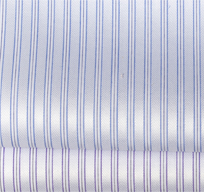 纯棉易烫三竖纹衬衫面料