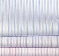 纯棉仿丝绸多竖纹衬衫面料